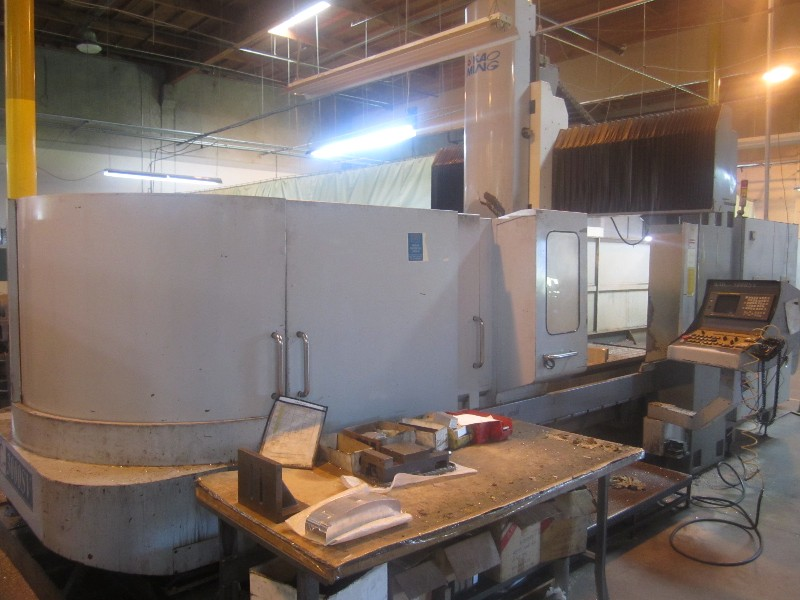 Cnc Machining Centers Kao Ming Kmc 3000sv Bridge Mill