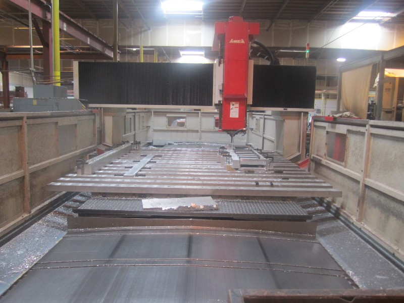 Cnc Machining Centers Awea Lp 4030 Bridge Mill