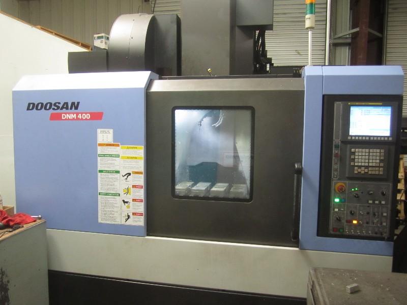 Cnc Machining Centers Doosan Dnm 400 Vertical Machining